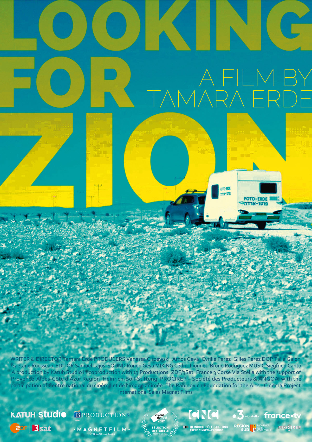 Looking for ZION - Poster